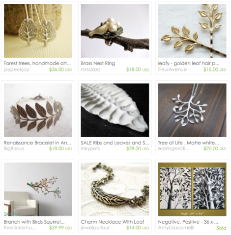 Etsy picks - Trees